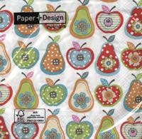 กระดาษแนปกิ้น เดคูพาจ Fruit 21431
