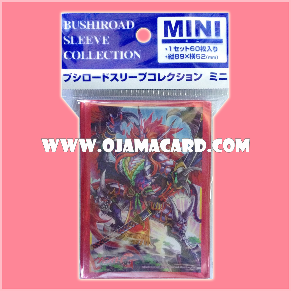 Bushiroad Collection Mini Sleeve Protector Vol.149 : Ambush Demonic Stealth Dragon, Homura Raider x60