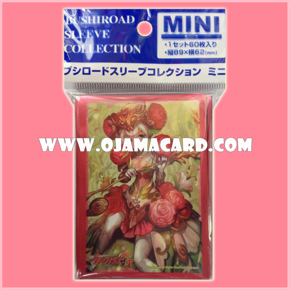 Bushiroad Collection Mini Deck Protector / Sleeve - Vol.139 : Flower Maiden of Ranunculus, Ayesha x60