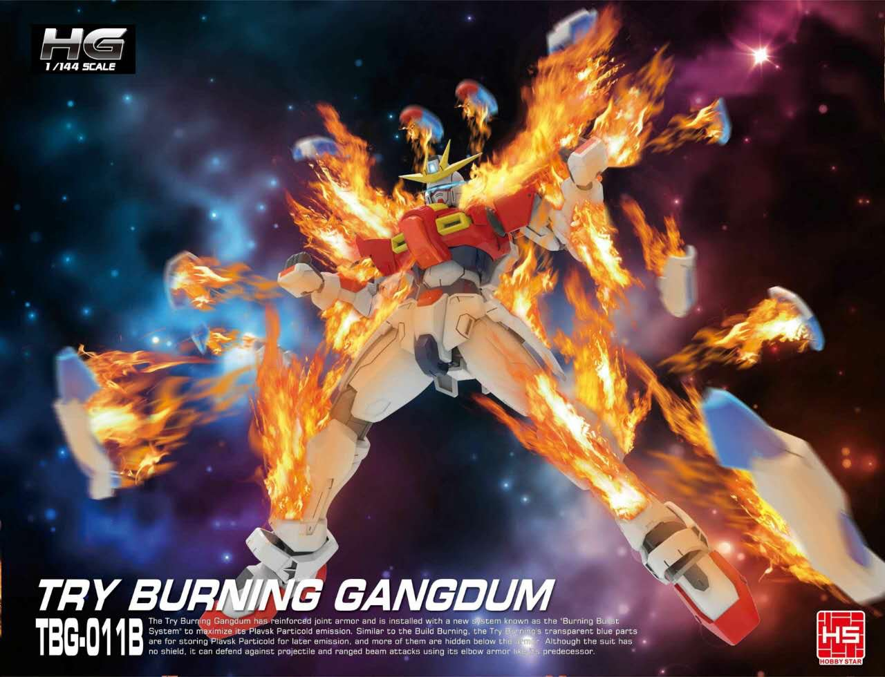 HG 1/144 Try Burning Gundam [HS]