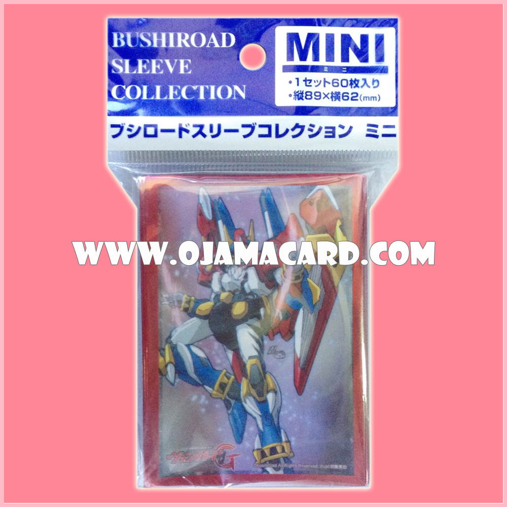 Bushiroad Collection Mini Sleeve Protector Vol.144 : Super Cosmic Brave Machine, Extiger x60