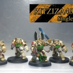 Deathwing squad DV painted