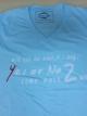 เสื้อยืด Yes Or No 2 สีฟ้า ไซส์ L