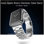 HOCO : Metal Strap Buckle Watch Band Strap 3 Pointer For Apple Watch (38mm) & (42mm)