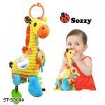 ST-SO004 ตุ๊กตาโมบายผ้า ยีราฟ Sozzy
