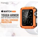 Spigen : Tough Armor Built-in Screen Protector 360 Full Coverage For Apple Watch (42mm)
