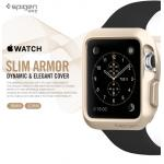 Spigen : Slim Armor Dynamic & Elegant Cover For Apple Watch (38mm) & (42mm)