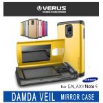 VERUS : DAMDA VEIL Case Mirror Cover Stand Skin For Galaxy Note 4