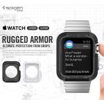 Spigen : Rugged Armor Ultimate Protection form DropsFor Apple Watch (38mm) & (42mm)