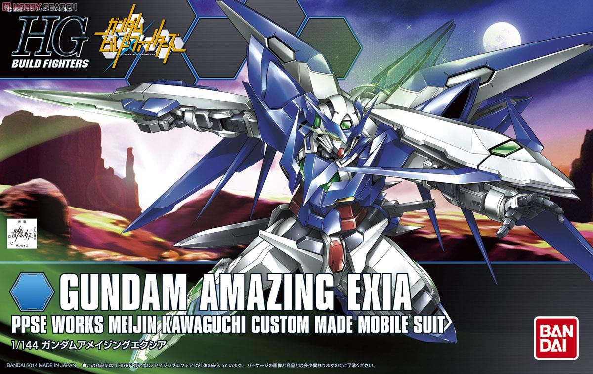 Gundam Amazing Exia (HGBF)
