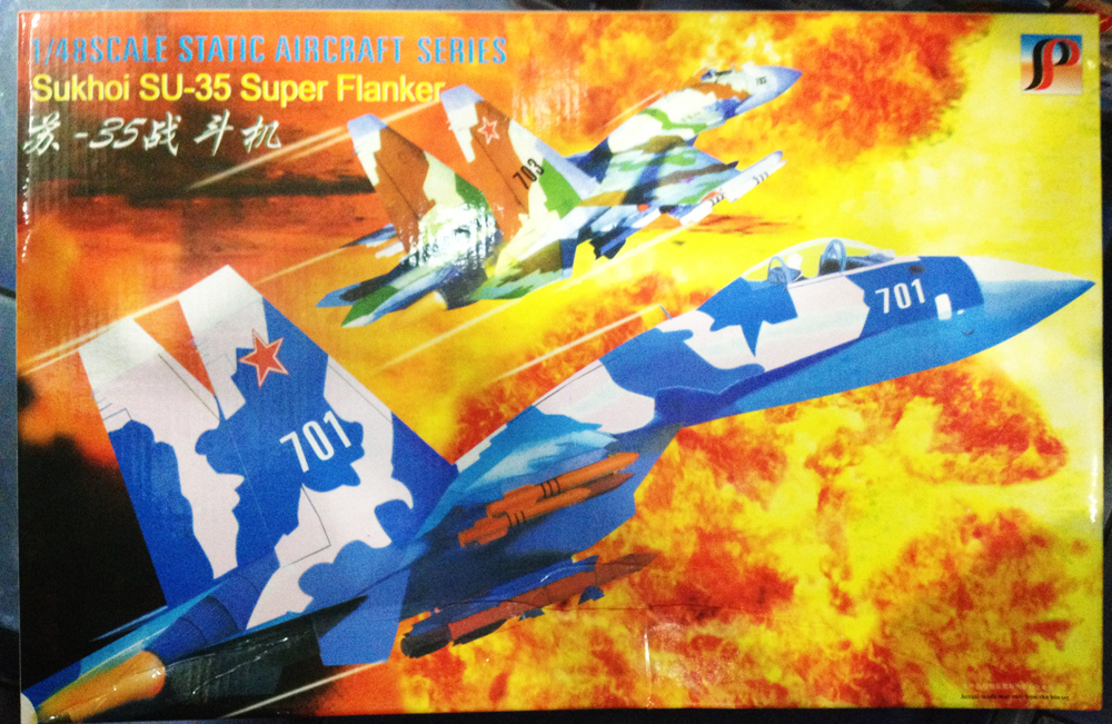 1/48 Sukhoi SU-35 Super Flanker