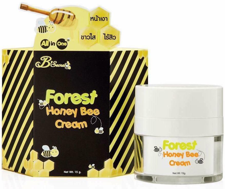 B'Secret ครีมน้ำผึ้งป่า บีซีเคร็ท