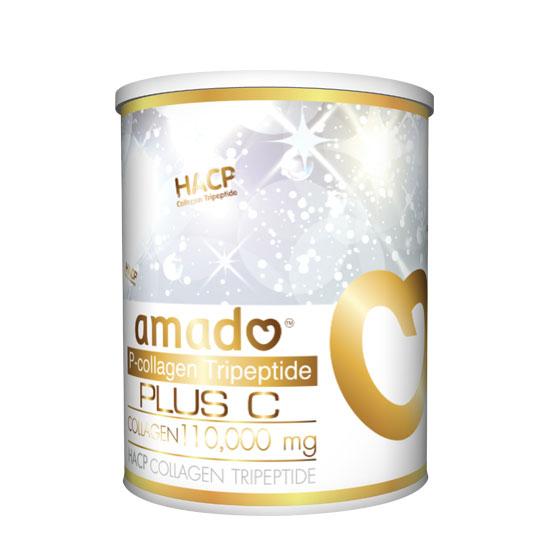 Amado P-Collagen Tripeptide Plus C อมาโด้ คอลลาเจน