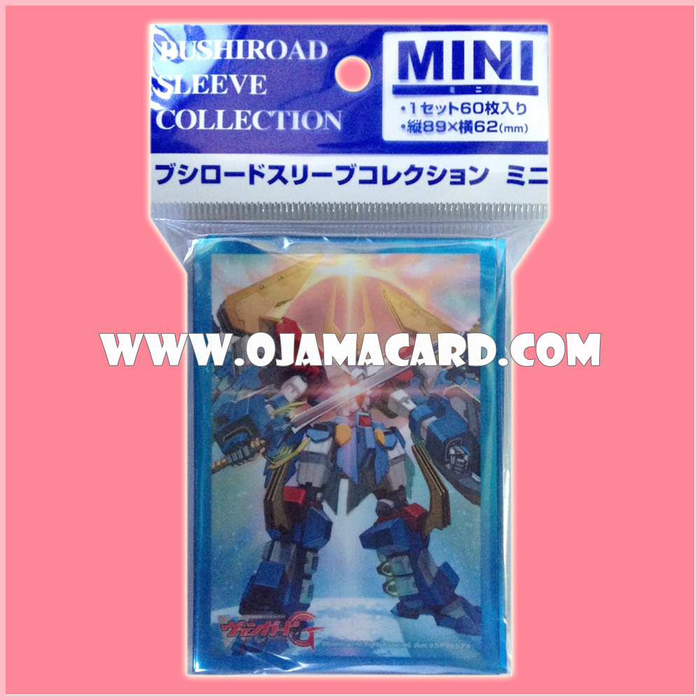 Bushiroad Collection Mini Sleeve Protector Vol.143 : 99th Generation Dimensional Robo Commander, Great Daiearth x60