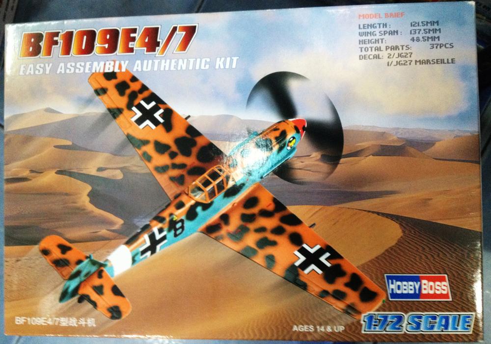 1/72 BF109E4-7