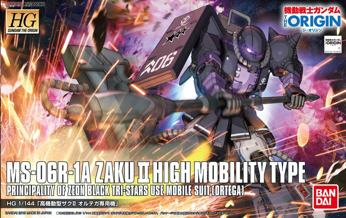 High Mobility Type Zaku II Ortega`s Custom (HG)