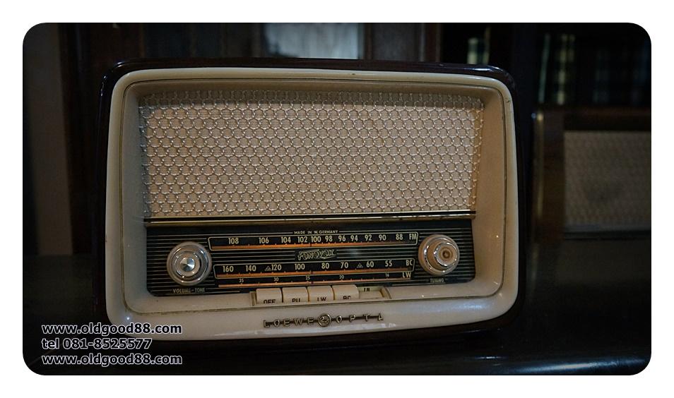วิทยุหลอด loewe opta bella รหัส21361lo
