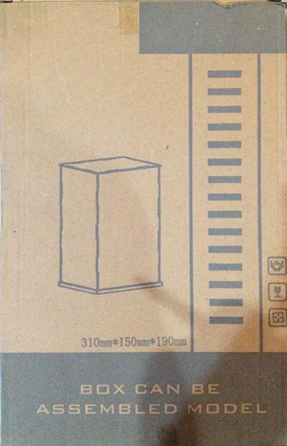 Display Box (310mm *150mm*190mm size)