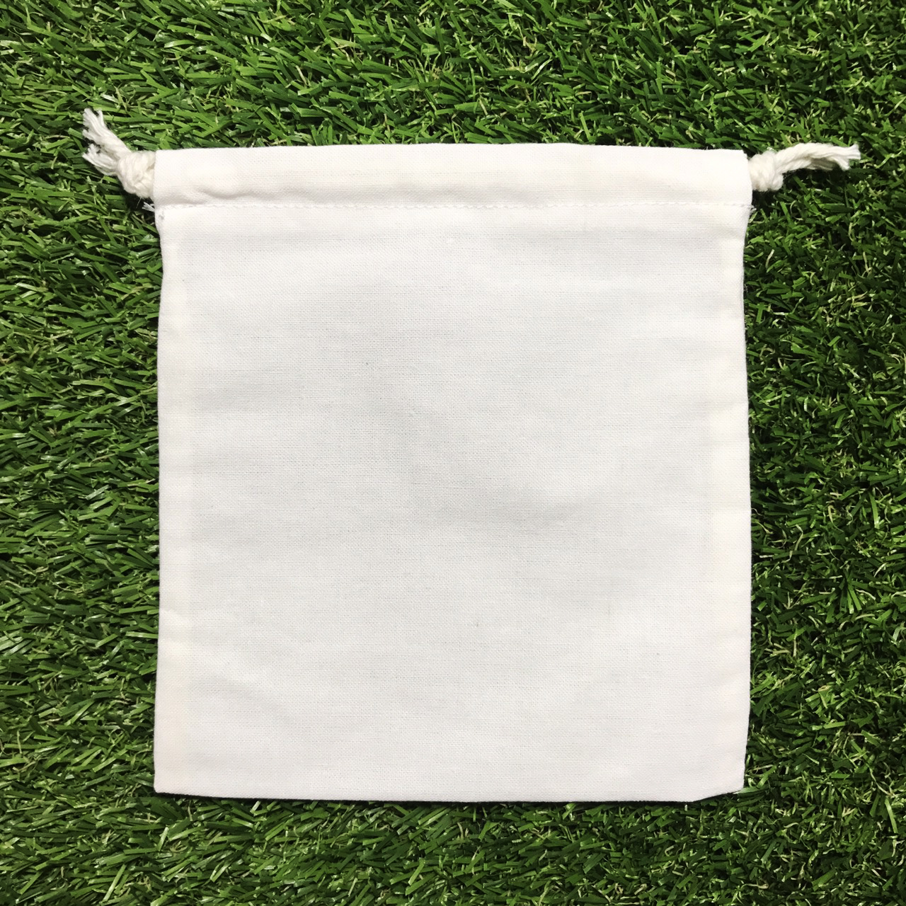 ถุงผ้าดิบเปล่า5*6นิ้ว แพค70ใบ