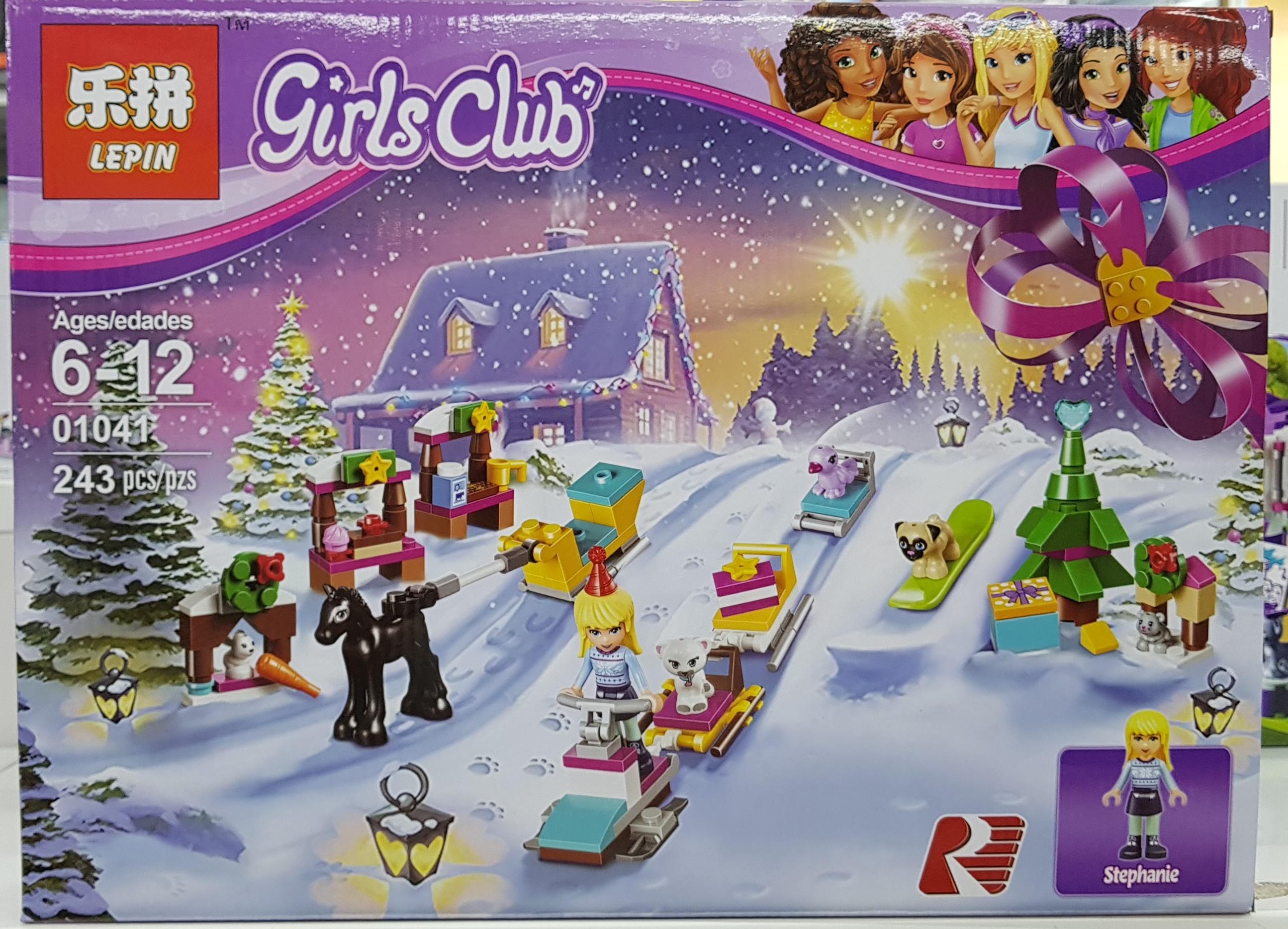 LEPIN GIRLS CLUB 01041 (243ชิ้น)