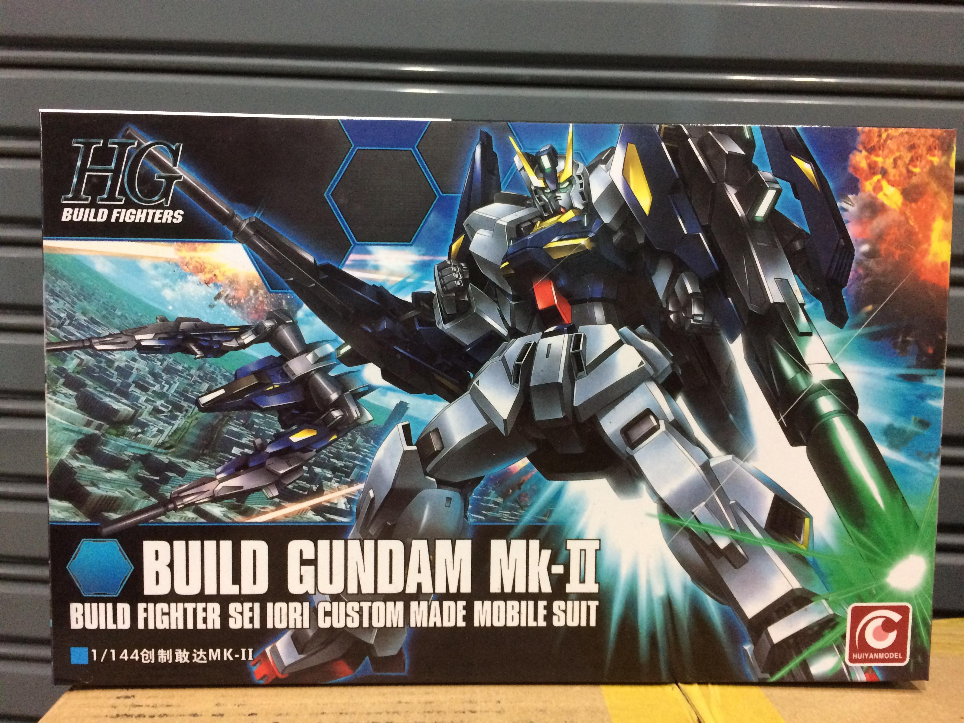 BUILD GUNDAM MK-II