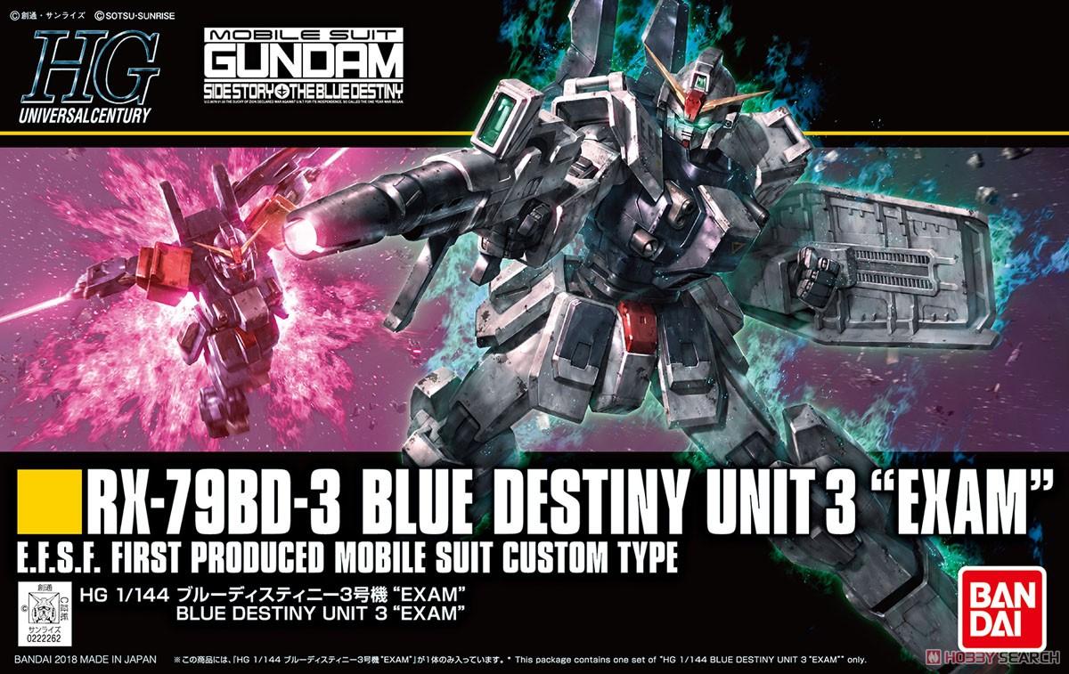 Blue Destiny Unit 3 `EXAM` (HGUC)
