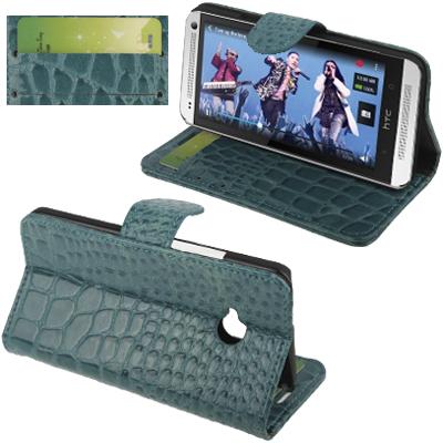 Crocodile HTC One (M7) (Aeruginosa stone)