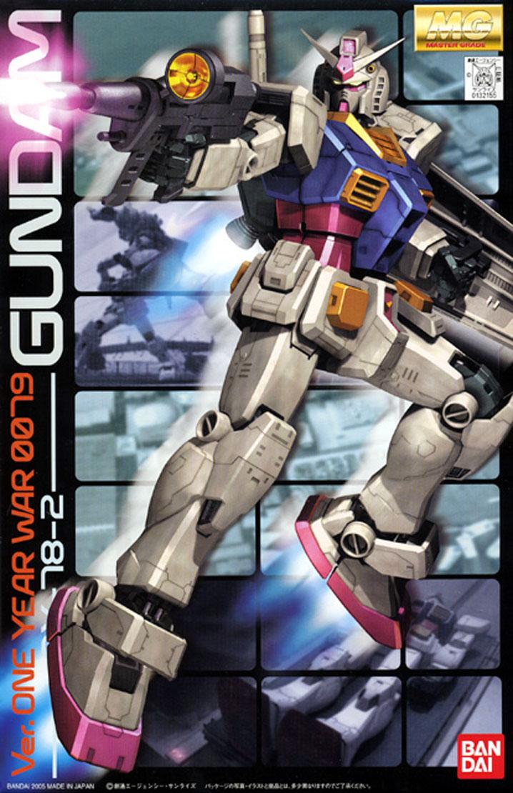rx-78-2 gundam ver.2.0 ver.one year war 0079