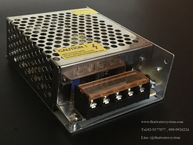 หม้อแปลงไฟฟ้า 220VAC 12VDC 5A