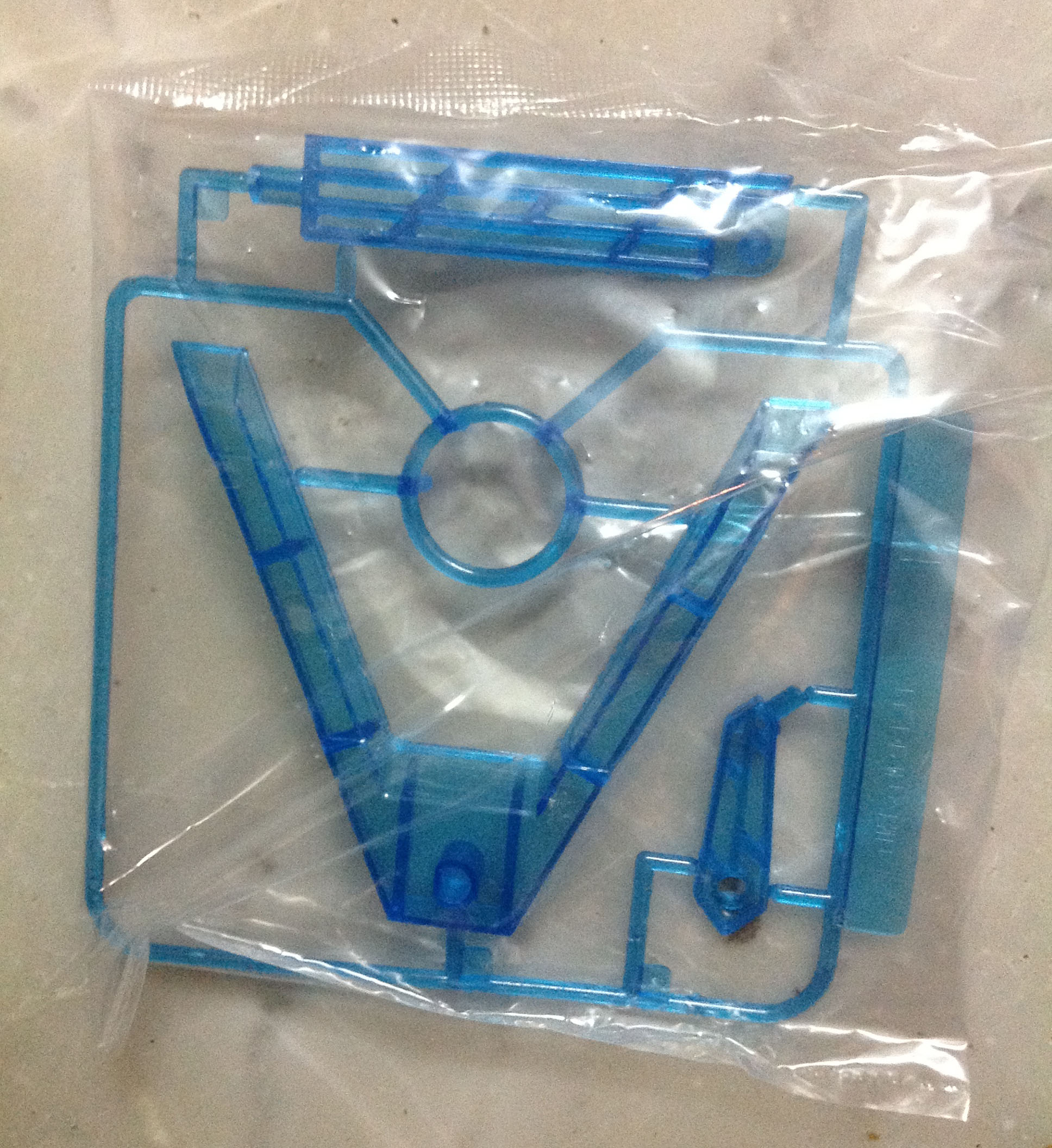 SD, 1/144 Action Base (Clear Blue)