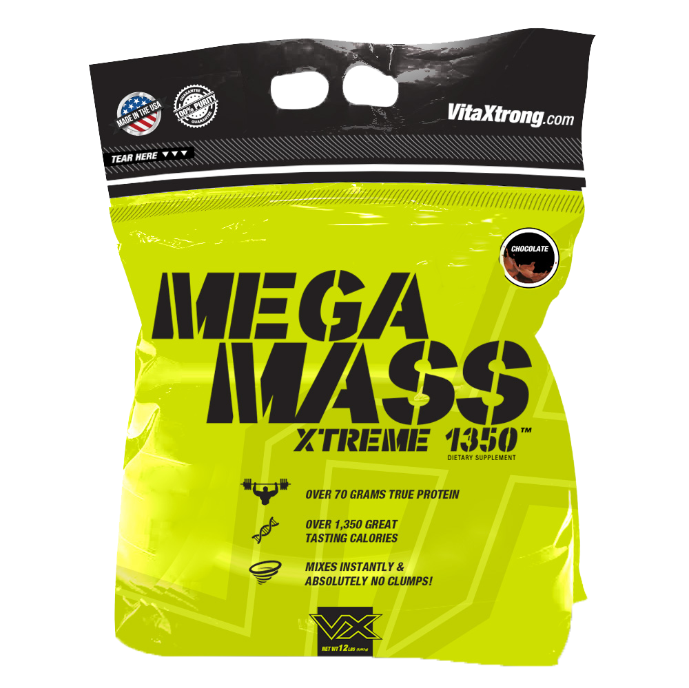 VITAXTRONG MEGA MASS XTREME 1350 12 LB