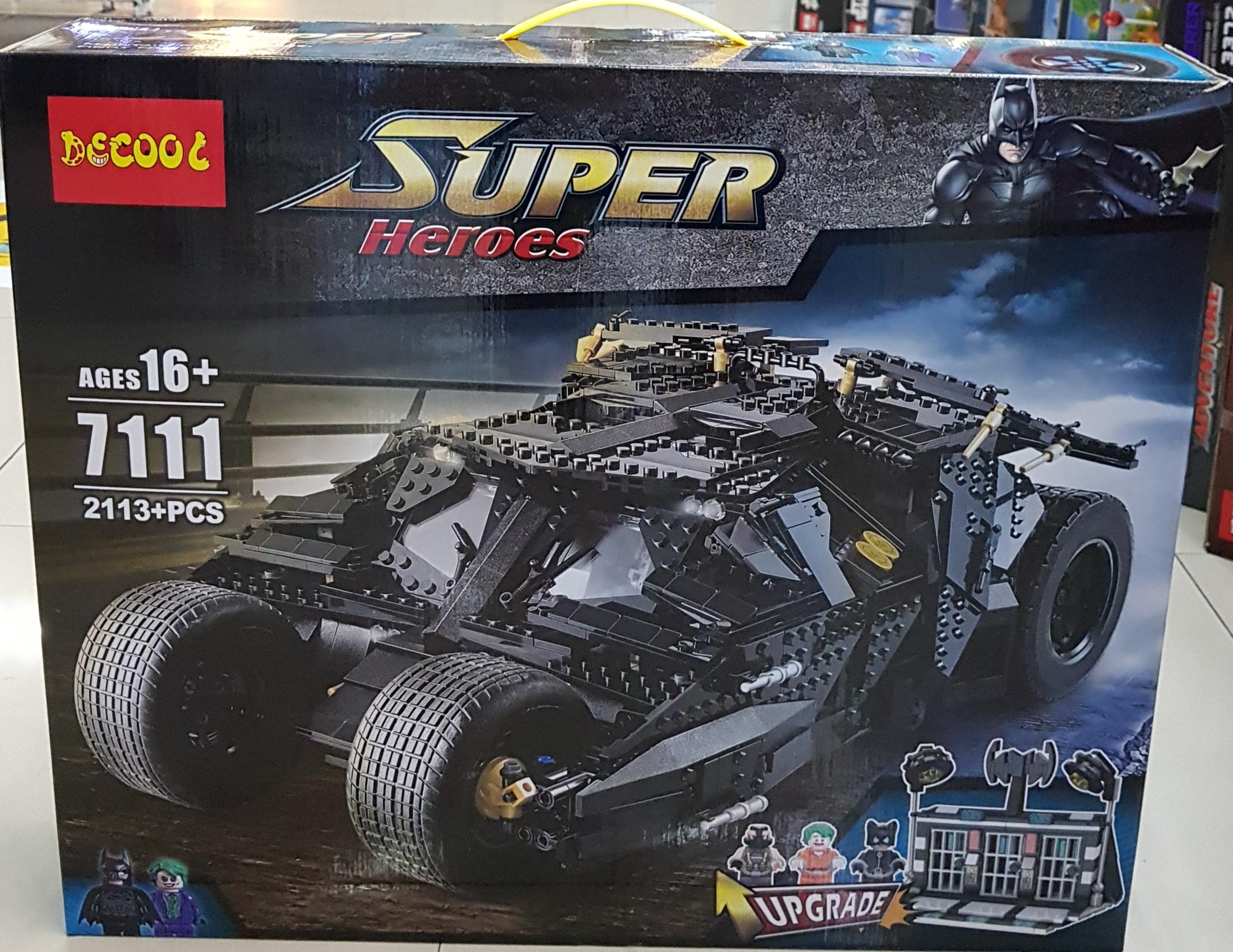 DECOOL SUPER HEROES 7111 [2113+ชิ้น]
