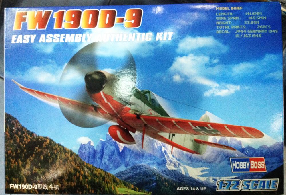 1/72 FW 190D-9
