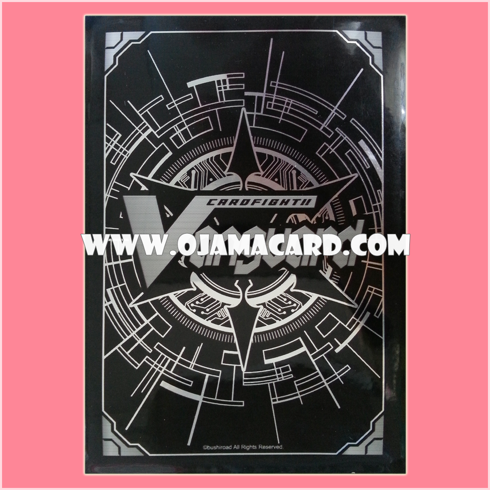 VG Official PROMO Card Sleeve : Silver Traditional Backing 50ct. 95%
