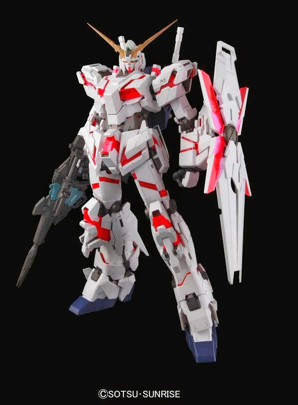 PG 1/60 Unicorn Gundam + ชุดไฟ LED Unit for PG RX-0 Unicorn Gundam [Daban]