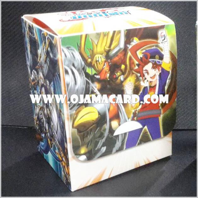 BF Fighter's Deck Holder Collection Vol.01 - Gao Mikado & Drum Bunker Dragon + CP01/S004TH : อัศวินแห่งสายฟ้า ฮัลเบิร์ดดราก้อน (Thunder Knights, Halberd Dragon) - SP แบบโฮโลแกรมฟอยล์