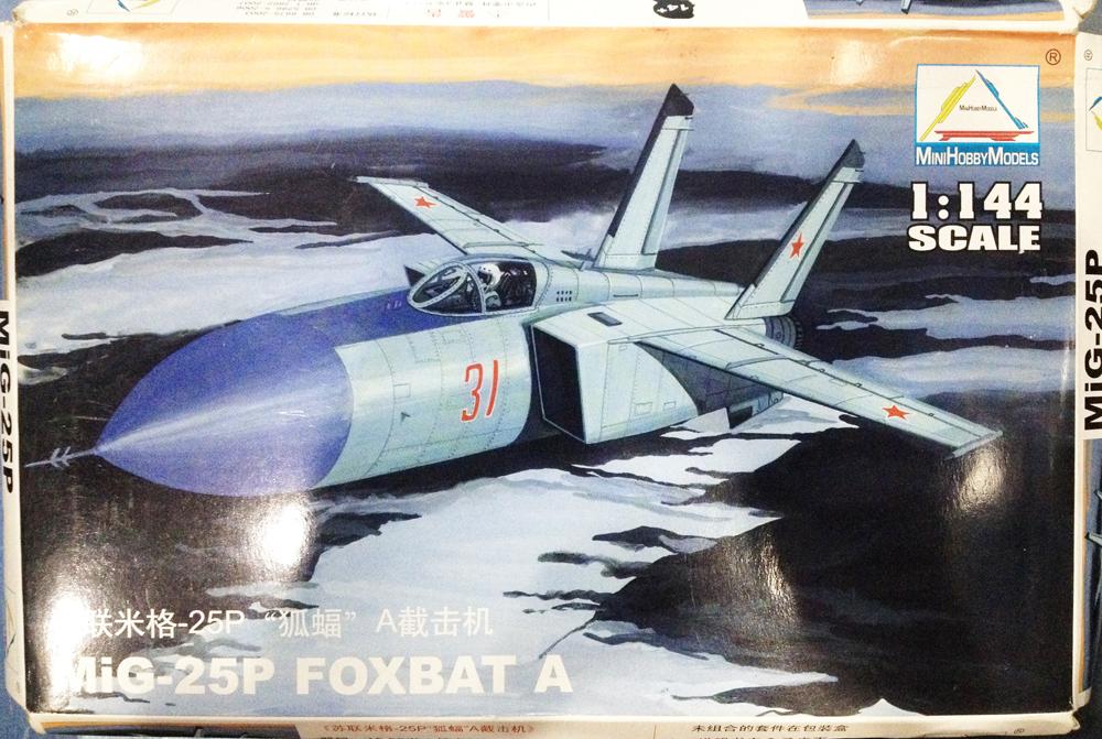1/144 MiG-25P FOXBAT A