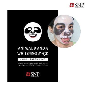 SNP animal panda whitening mask