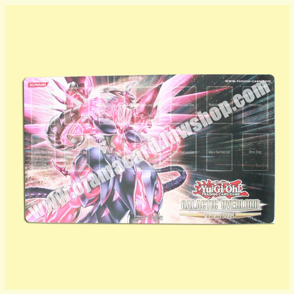 Yu-Gi-Oh TCG Sneak Peek Playmat / Duel Field - Neo Galaxy Eyes Photon Dragon / Galactic Overlord 95%