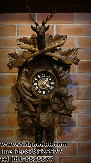 นาฬิกากุ๊กกู8วัน รหัส10861kk