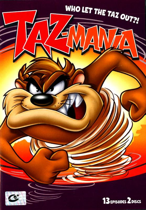 Taz-Mania : Who Let The Taz Out: Season 1 Part 2 / แทสกับครอบครัวตัวแสบ ปี 1 ชุดที่ 2 (มาสเตอร์ 2 แผ่นจบ)