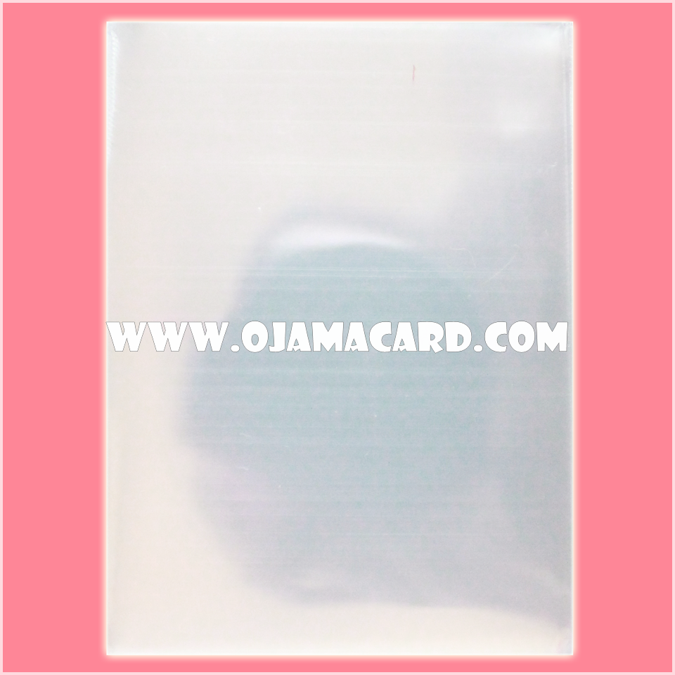 Premium Oversized Card Protector / Sleeve - Clear 200g. (~350ct.)