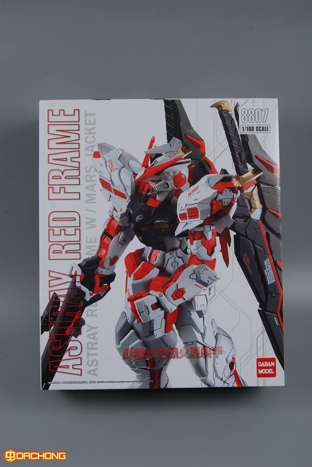 MG 1/100 (8807) Red Frame w/mars jacket [Daban]