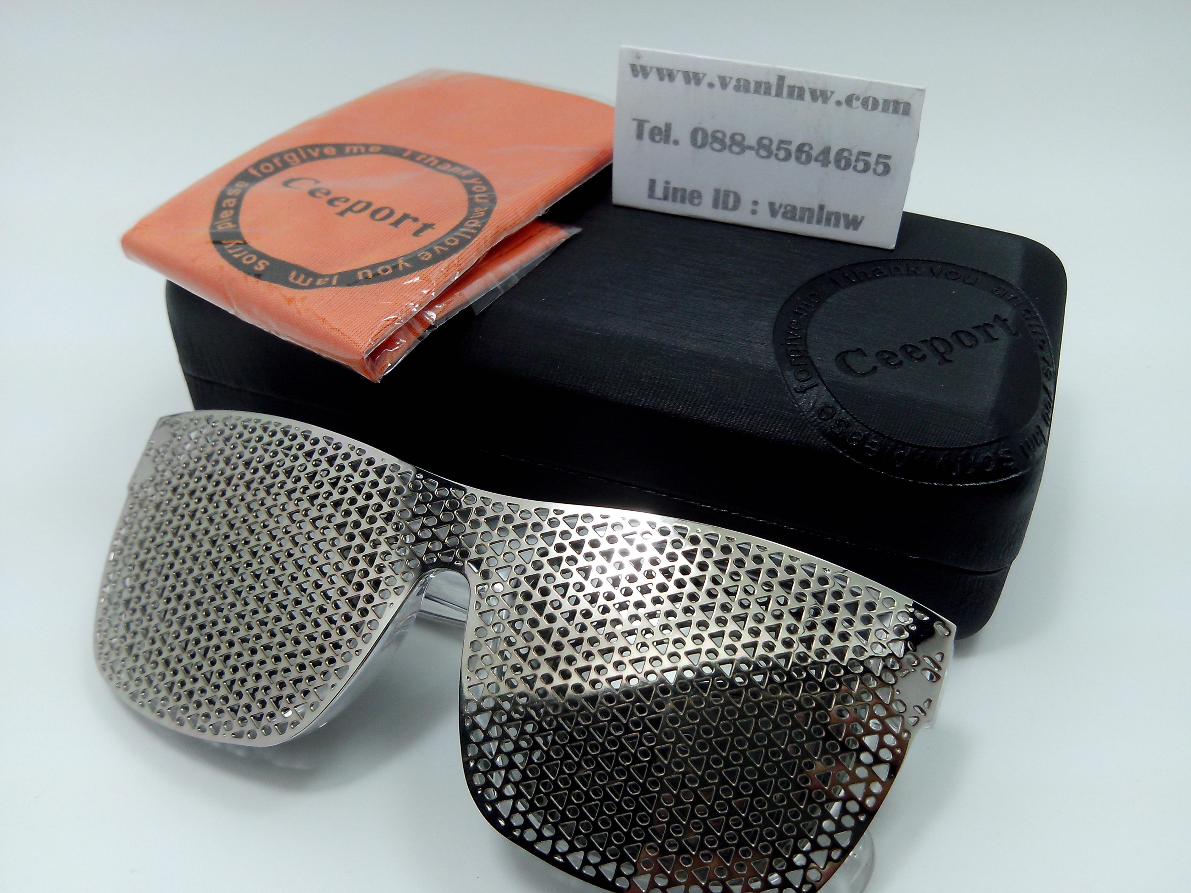 แว่นกันแดดคลิปออน K6451 54-19 134 <ปรอทเงิน>