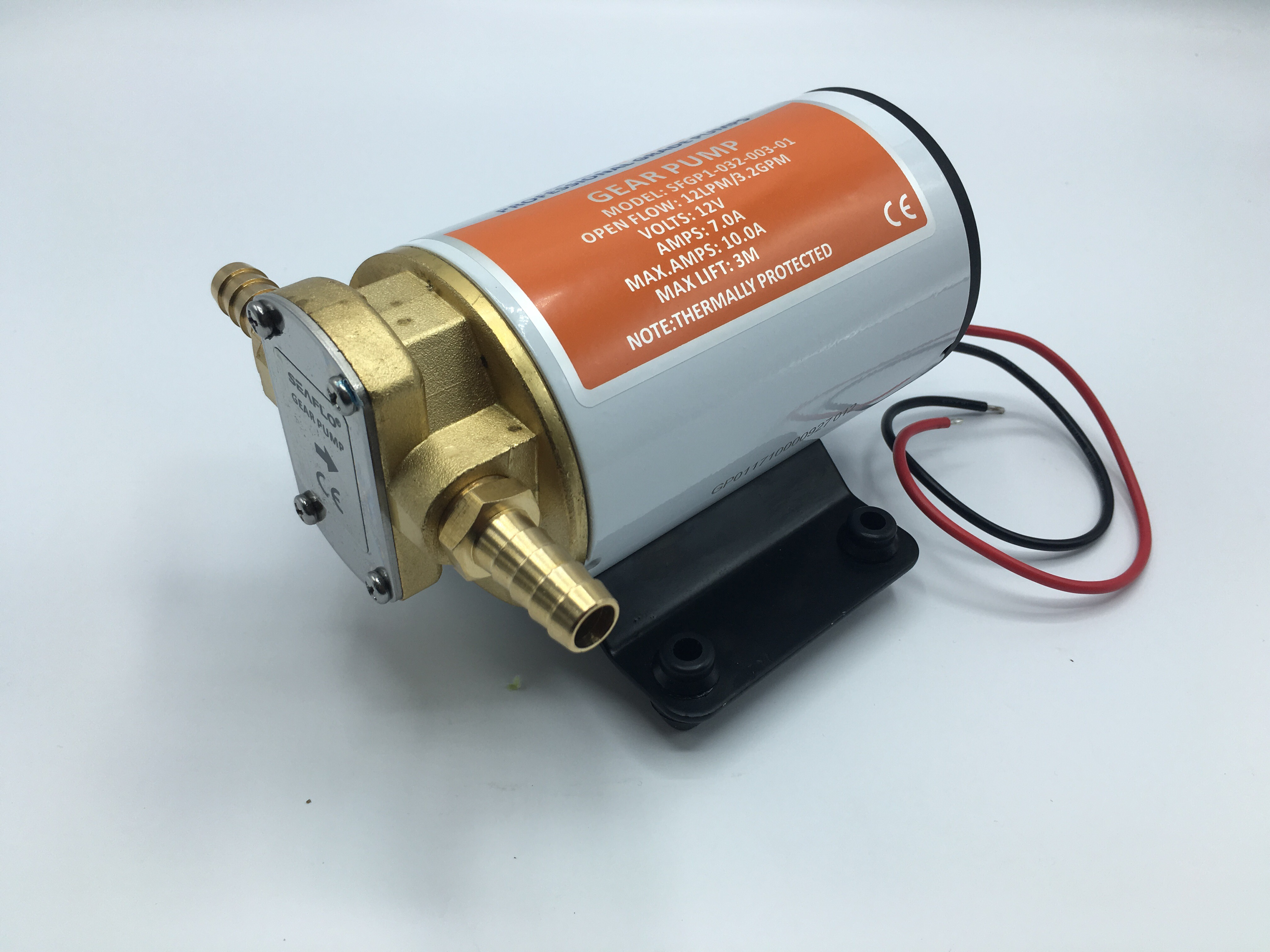 ปั๊มดูดน้ำมัน DC 12V 144W ( Gear Pump )