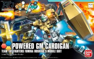 HGBF 1/144 Powered GM Cardigan