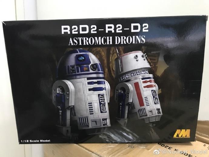 1/12 R2D2 & D2-R2 Astromch Droins [Nuclear Model]