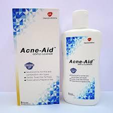 เเอคเน่-เอด acne aid สบู่เหลวล้างหน้า สูตรอ่อนโยน สำหรับผิวบอบบางและผิวที่เป็นสิวง่าย 100มล.(l Acne-Aid Gentle Cleanser 100ml) acneaid