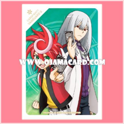 VG Official PROMO Card Sleeve : Chrono Shindou and Kouji Ibuki 53ct.