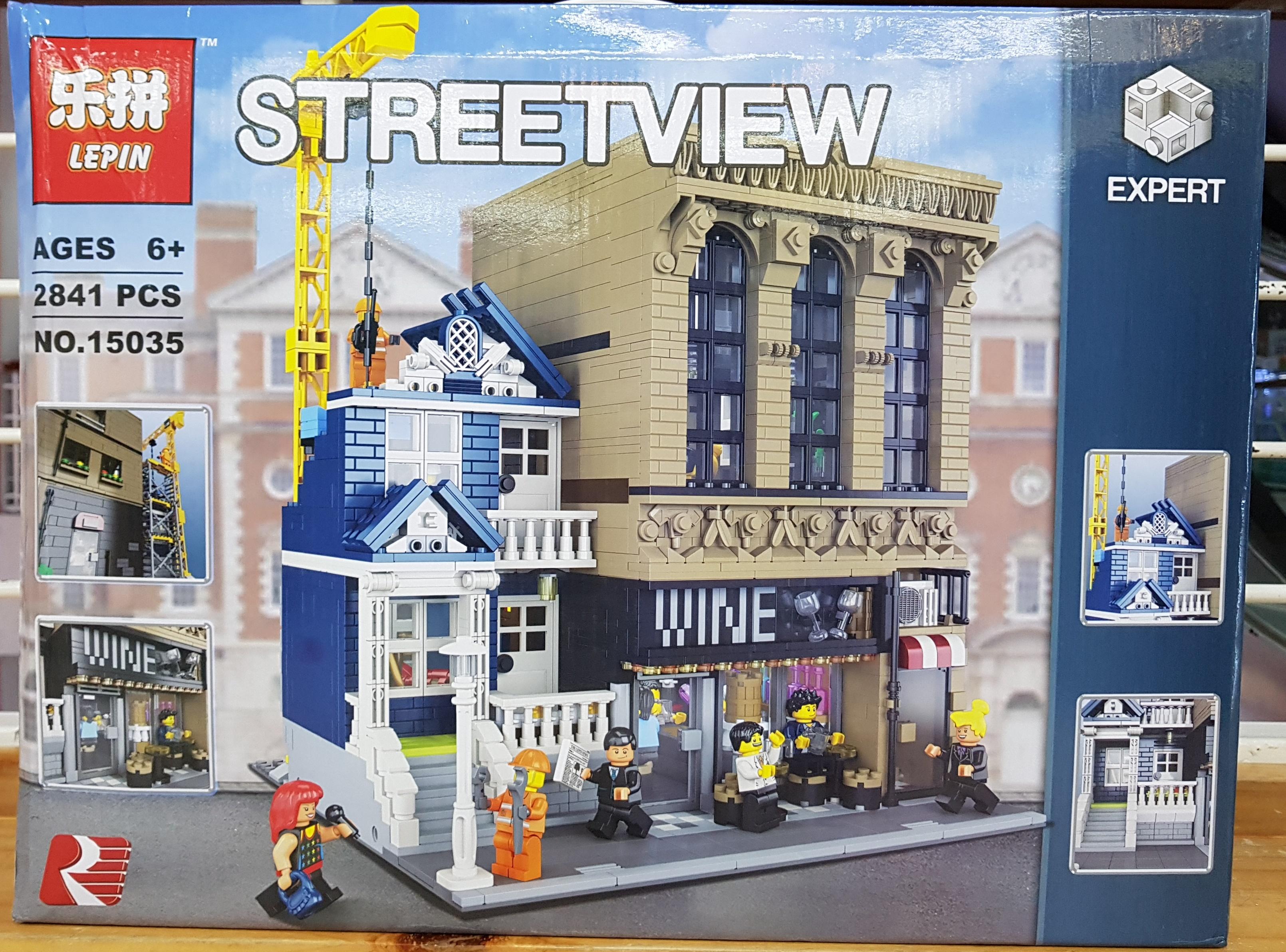 LEPIN STREETVIEW 15035 (2841ชิ้น)